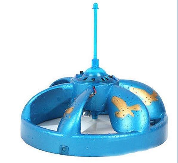 Hottest Blue UFO Mini toys Hovering Floating Flashing LEDs Auto induction saucer