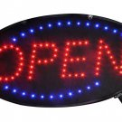 "Electronic Flashing LED Beautiful Neon OPEN Sign - 19"" L x 10"" W Mega Sales"