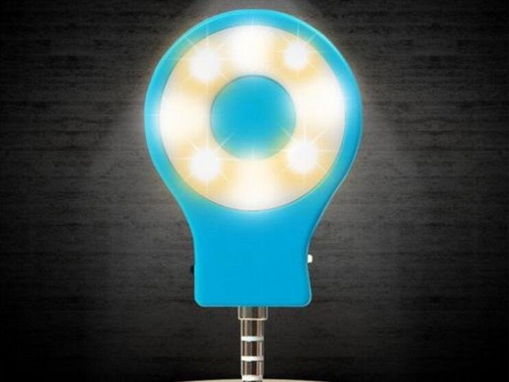 Mini Adjustable Light LED Lamp External Flash Fill Light Selfie for Smart Phone