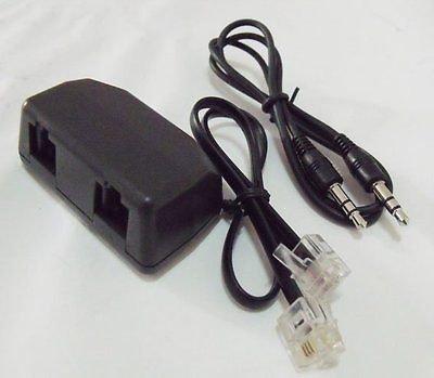 RJ11 TELEPHONE RECORDER INTERFACE PC DIGITAL VOICE RECORDING Adaptor Splitter