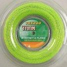 STO New Fiber 1.30mm 200m Flash Green Tennis Set String Crystal Reel