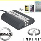 Car AUX & iPhone iPad iPod Audio Adapter for Nissan Infiniti Changer Mp3 Interface