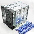 """PC 5 Bays Drives Protect Case 3.5"""" SATA SAS IDE HDD Enclosure Docking Station"""