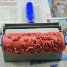 Animal Deer Pattern painting Paint roller & applicator wall paper Embossing Tools