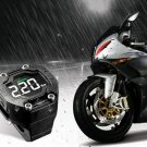 Steelmate TP-90 TPMS Motorcycle Tire Wheel Pressure Monitor 2 Sensors LCD