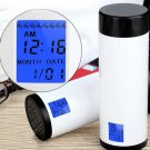 320ml Intelligent Smart Remind Cup Drink Water Drinking Reminder Double Layer
