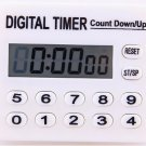 12 Portable Keys LCD Electronic Remind Digital Time Count Down Up Timer