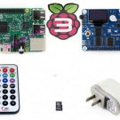 Pack B Raspberry Pi 3 Model B Mother Board Pioneer600 8GB Micro SD Card WiFi