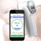 Handheld Bluetooth No Need Contact Infrared Thermometer Monitor & APP for IOS Android