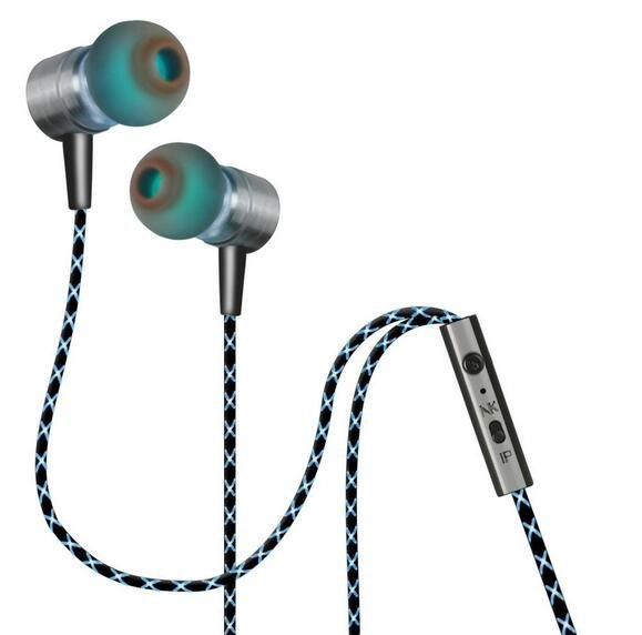 In Ear Earphone Magnetic Adsorption Bass Headphone Ear buds Earbuds With Mic