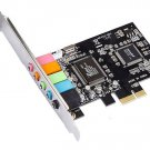 CMI8738 Chipset 5.1CH 6-Channels 3D PCI-Express Digital Audio Sound Card