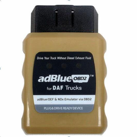 AdblueOBD2 Truck Plug Drive Ready Device Adblue DEF Nox Emulator OBD2 Adaptor