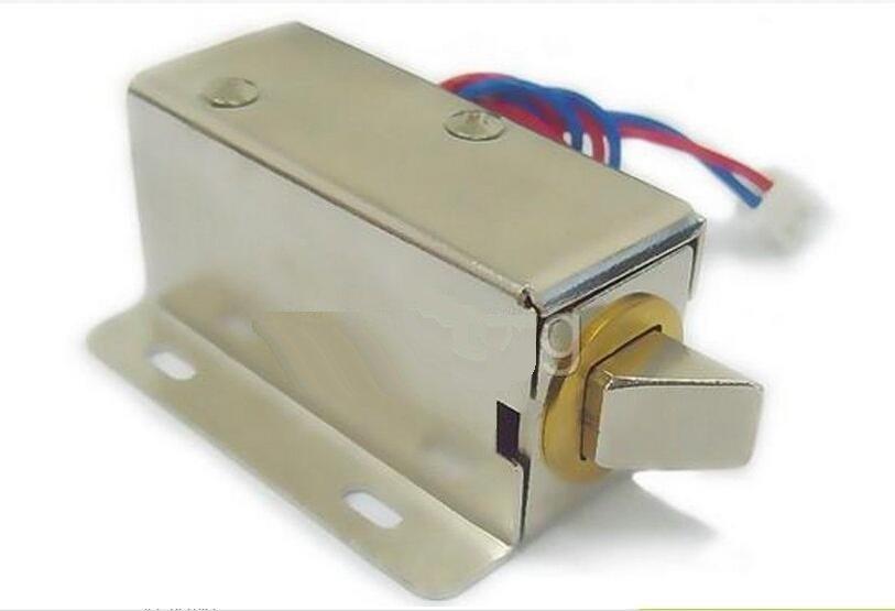 DC 12V Latch Electric Drawer deadbolt Cabinet Fail Secure Metal Lock Desk Locker