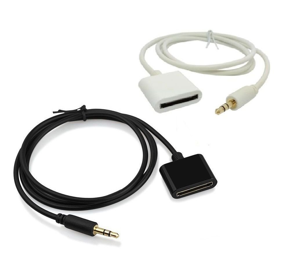 AUX 3.5 mm Male to 30 pin Female for Apple iPod iPhone Dock Adapter Cable Cord