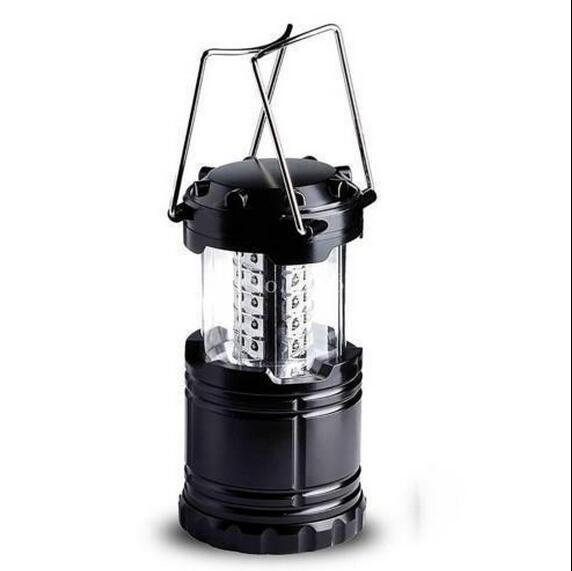 Emergency Camping Lantern Lamp 30 Bright LED LEDS Flashlight For Outdoor Garden