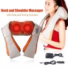 Electric Kneading Neck Shoulder Body Infrared Heat Heating Massager Stress Relief