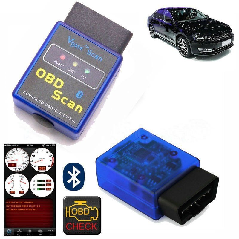 OBD2 II ELM327 V1.5 Auto Super MINI Bluetooth Diagnostic Scanner Tool for Car