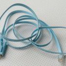 DB9 D-SUB VGA female jack to RJ45 8P8C plug male Cisco Console Cable 5FT blue