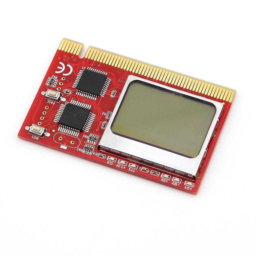 LCD Desktop Display PC Mainboard POST PCI Slot Diagnostic Analyzer Test Card