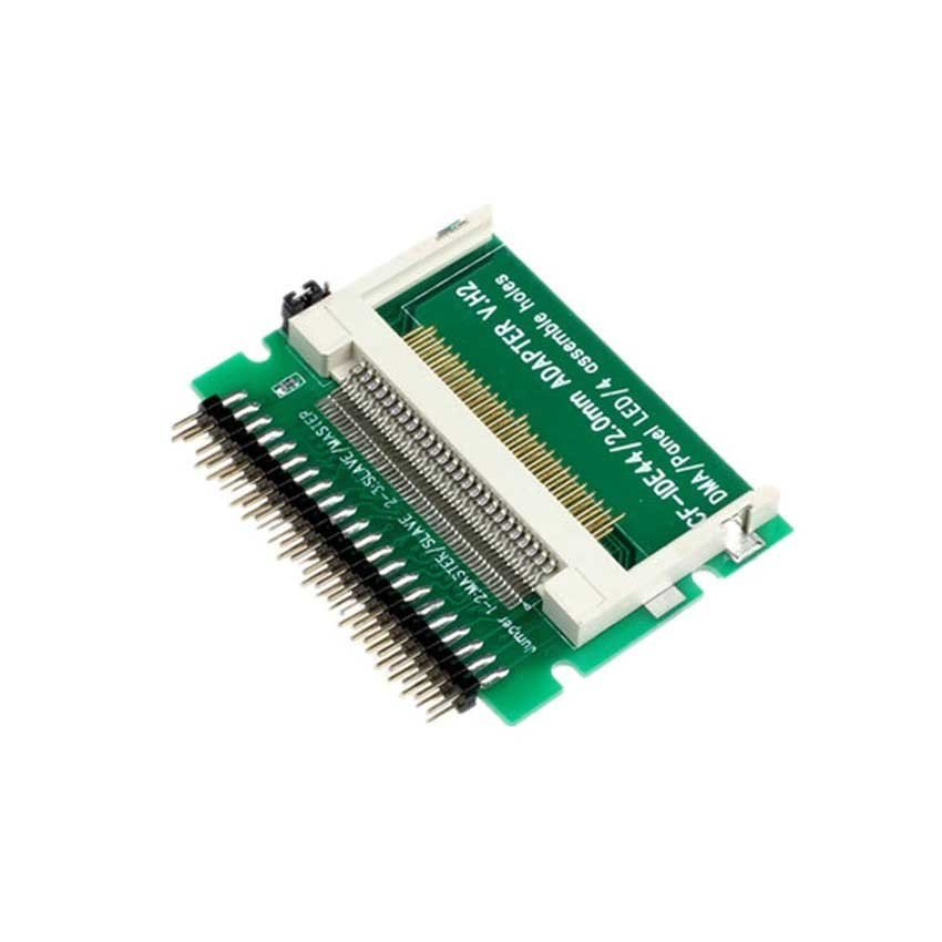 CF To 44 Pin Male IDE Adapter PCB Converter Convertor 2.5 HDD Drive For Laptop