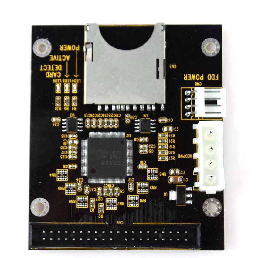 """SD To 3.5"""" 40 Pin Male IDE Hard Disk Drive Adapter Card 3.5 IDE Converter"""