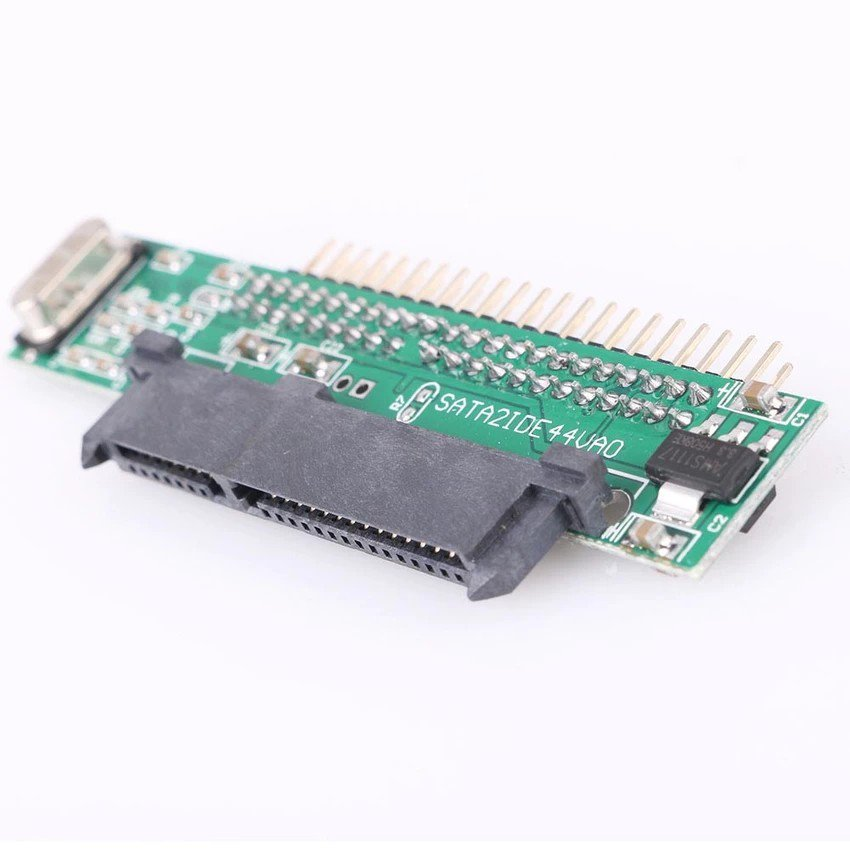 """2.5"""" Male IDE To 7+15 Pin Female SATA HDD SSD Adapter New Converter For laptop"""