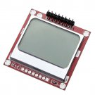 2X 84x48 Pixel LCD Module White Backlight Adapter Led PCB For Nokia 5110 Arduino