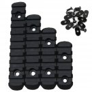 Black Tactical Advanced Polymer Rail Sheet Section Set for MOE Hand Guard Handguard