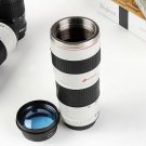 Canon Camera Lens Shaped EF 70 - 200mm Drink Drinks Thermos Coffee Cup Mug