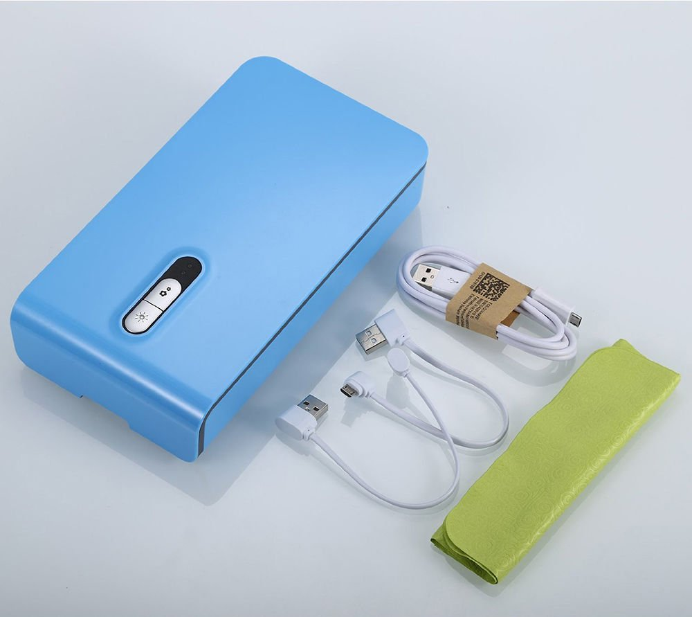 Mobile Phone UV Sterilizer Sterilization Disinfection Aroma Cleaner For iPhone 8