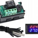 DC 12V -50-110 DegC Digital thermostat Temperature Control Temp Sensor Device K9