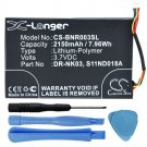 2150mAh MLP305787 S11ND018A Battery for Barnes & Noble BNRV300 BNTV350 Nook Simple Touch