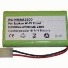 2500mAh 8LMH-48AA1800-H-MA Battery for Meccano Erector 870850E Spykee Spy Robot