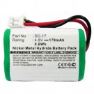 170mAh DC-17 MH120AAAL4GC Battery for SportDog 400 SD-400 800 SD-800 Collar Receiver
