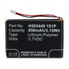 850mAh H503448 1S1P Battery for Skygolf Skycaddie AIRE X8F Golf GPS Rangefinder
