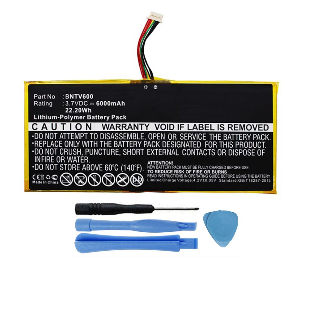 6000mah Gb S02 308594 0100 Battery For Barnes Amp Noble Nook