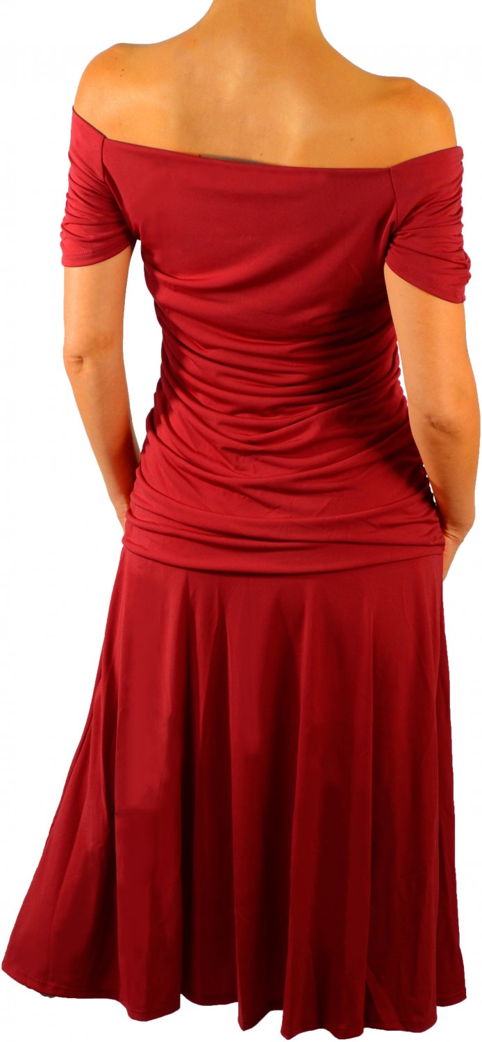 DR9 FUNFASH APPLE RED WOMENS DRESS COCKTAIL DRESS CRUISE DRESS SIZE LARGE 9 11