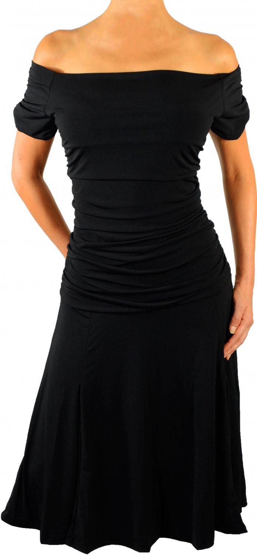 DB2 FUNFASH GOTHIC BLACK PLUS SIZE DRESS COCKTAIL DRESS CRUISE DRESS 1X 18 20