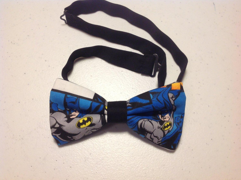 Bow tie men batman neckband cotton pretied superhero