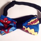 Bow tie men spiderman comic neckband cotton pretied superhero