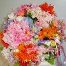 Flower Pomander flower girl bride's bouquet maid of honor wedding flowers