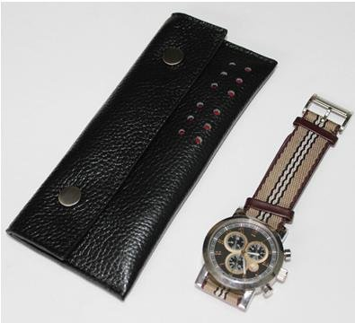 Leather Bags Watch Pouch THAE-002