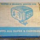 Antique ACME-LITE Super 8 Quartz Movie Lite