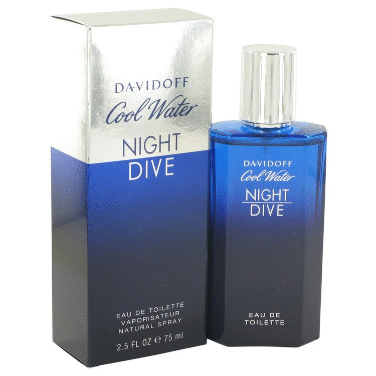 Davidoff cool water night dive for men 125ml - Davidoff night dive ...
