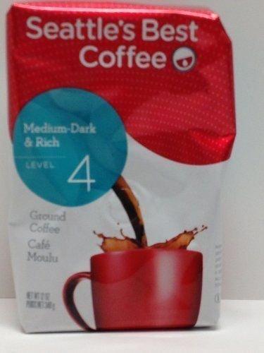 Seattle's Best Coffee Level 4 Medium-Dark & Rich Ground Coffee (4-Pack) [Misc.]