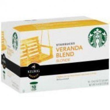 Starbucks Sbux Kcup Veranda Coff 10 count (Pack Of 6) [Misc.]