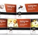 Seattle's Best, Single Serve K-Cup Coffee, 3.5oz Box (Pack of 3) (Choose Flav...