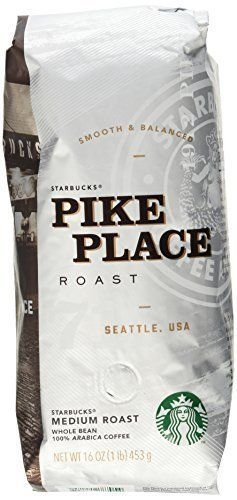 Starbucks Pike Place Roast Ground Coffee 1lb [Misc.]