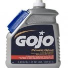 Gojo 0988-02 Power Gold Hand Cleaner with GRIPPIT Nail Brush, 2 Liters [Misc.]