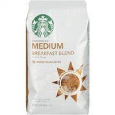 Starbucks Breakfast Blend Ground Coffee, 12 Oz (Pack of 4) [Misc.]